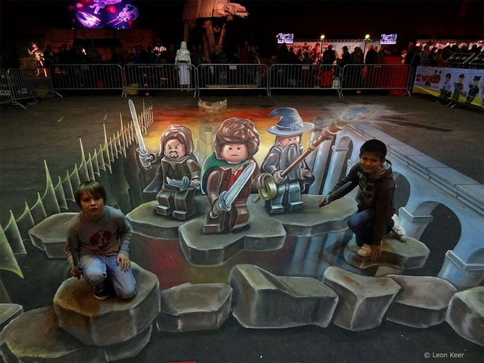 3D Chalk Artists Will Make You Question Reality