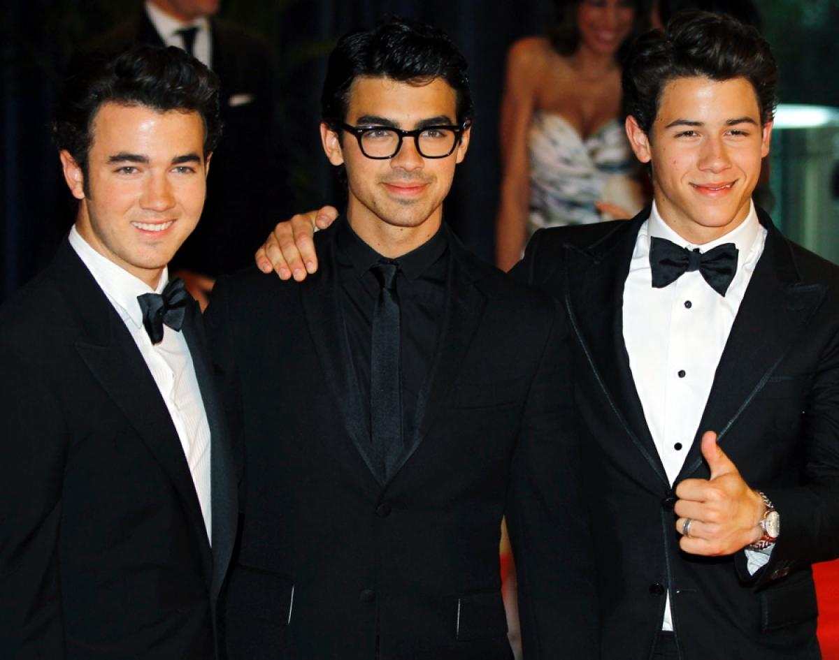 The Jonas Brother now!