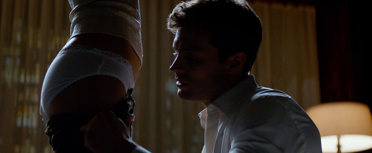 New fifty shades of grey trailer say i did stay what for Fifty shades of grey part 2