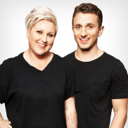 Meshel & Tommy radio presenters on Nova 100 in Melbourne