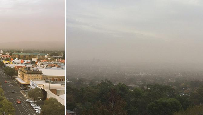SA has been blanketed in dust – photos | FIVEaa