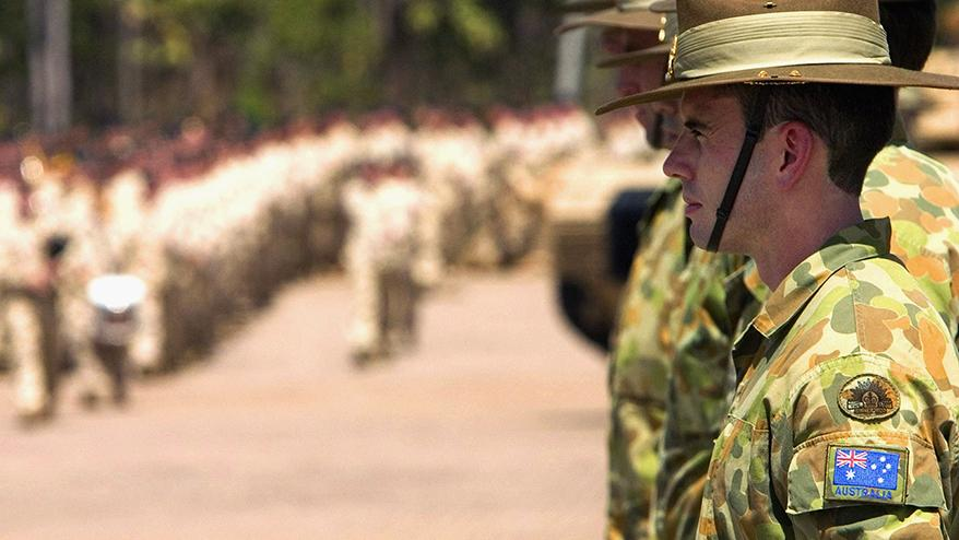 More Australian soldiers off to Iraq