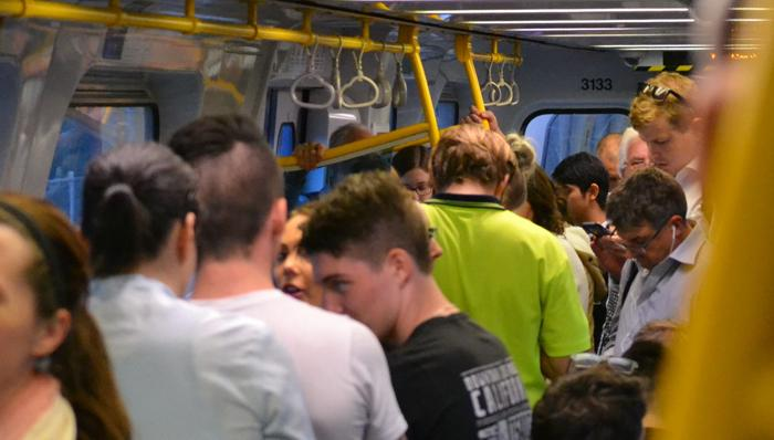"Jam-packed passengers ""freak out"" during rail chaos: witness 