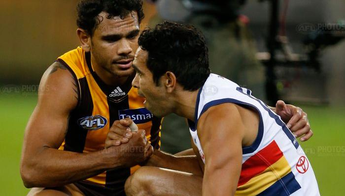 Eddie Betts talks about his moment with Rioli after heart-breaking loss | FIVEaa