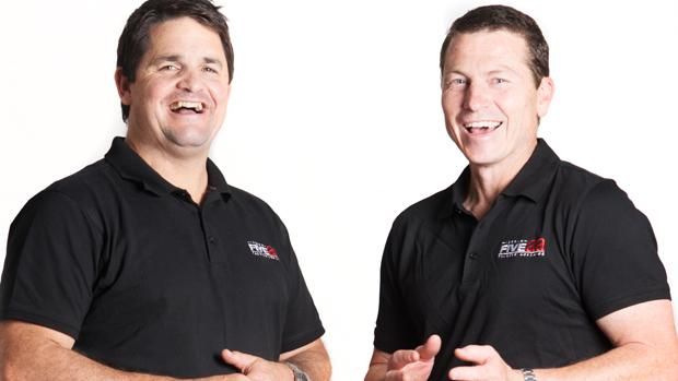 Rowey and Bicks, FIVEaa Sports Show