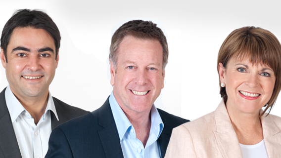 David, Mark and Jane - FIVEaa breakfast