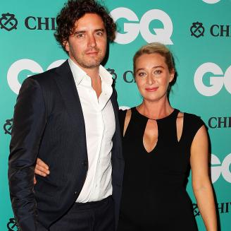 asher Keddie announces she is pregnant at GQ man of the year awards
