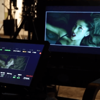 Behind the scenes -Ariana Grande's new music video