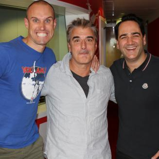 chris noth aka mr big talks to fitzy & wippa