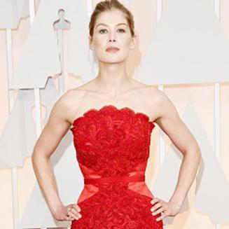 Rosamund Pike looking skinny at the Oscars