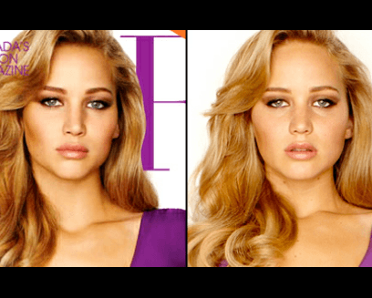 J Law photoshop