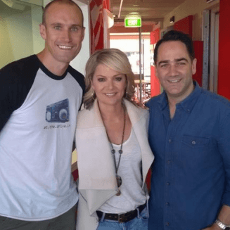 Sandra Sully completes Fitzy & Wippa's challenge