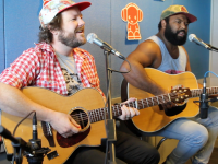 "Busby Marou perform a live acoustic cover of ""Girls Just Wanna Have Fun"""