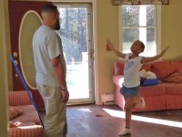 Daddy daughter dance off dance battle