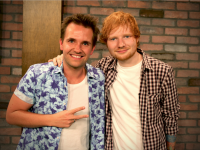 Smallzy catches up with Ed Sheeran