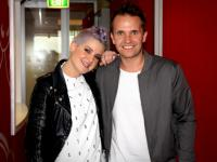 Kelly Osbourne with Smallzy at Nova