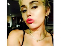 Miley Cyrus shows off new boobs?