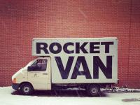 Punny buisness: rocket van