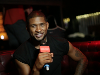 Smallzy interviews Usher, backstage in NYC