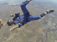 Skydiver suffers seizure mid jump