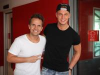 Scotty T from Geordie Shore hangs out with Smallzy at Nova