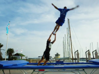 The best trampoline tricks in the world