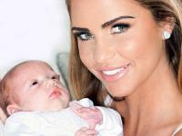 Katie Price names her baby daughter Bunny after six weeks