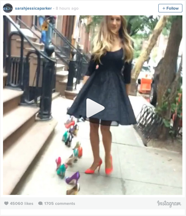 Is SJP teasing SATC 3 on Instagram? | smooth