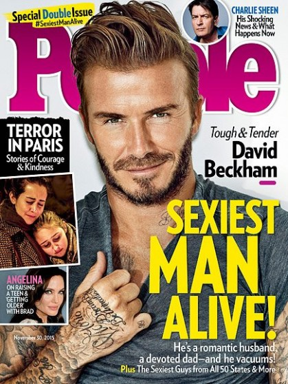 David Beckham voted 2015
