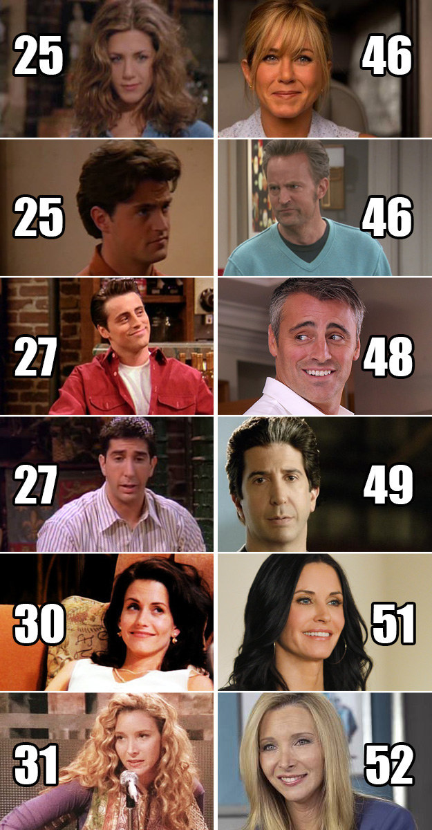 8 Friends facts that will make you feel old | smooth