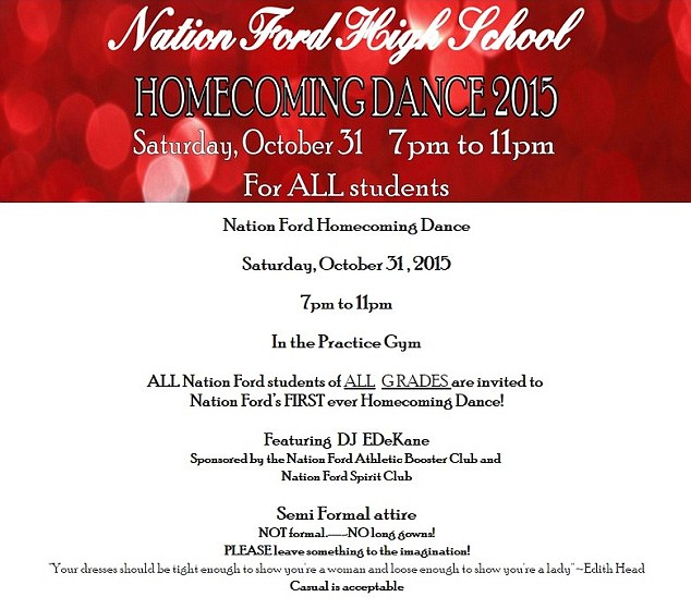 This High School S Homecoming Invitation Is So Not Ok Smooth