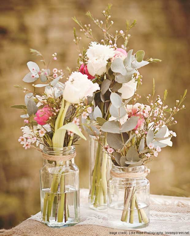 Country wedding decor ideas smooth - Flowers for table decorations ...