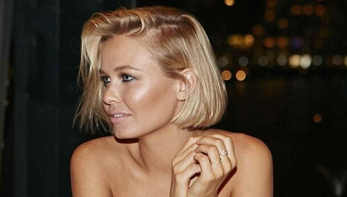 Lara Bingle Went Semi Sheer For First Appearance Since