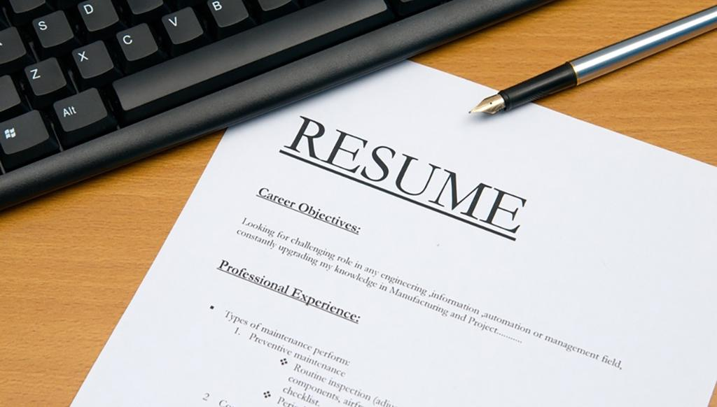 9 things you should not do when writing your resume 100