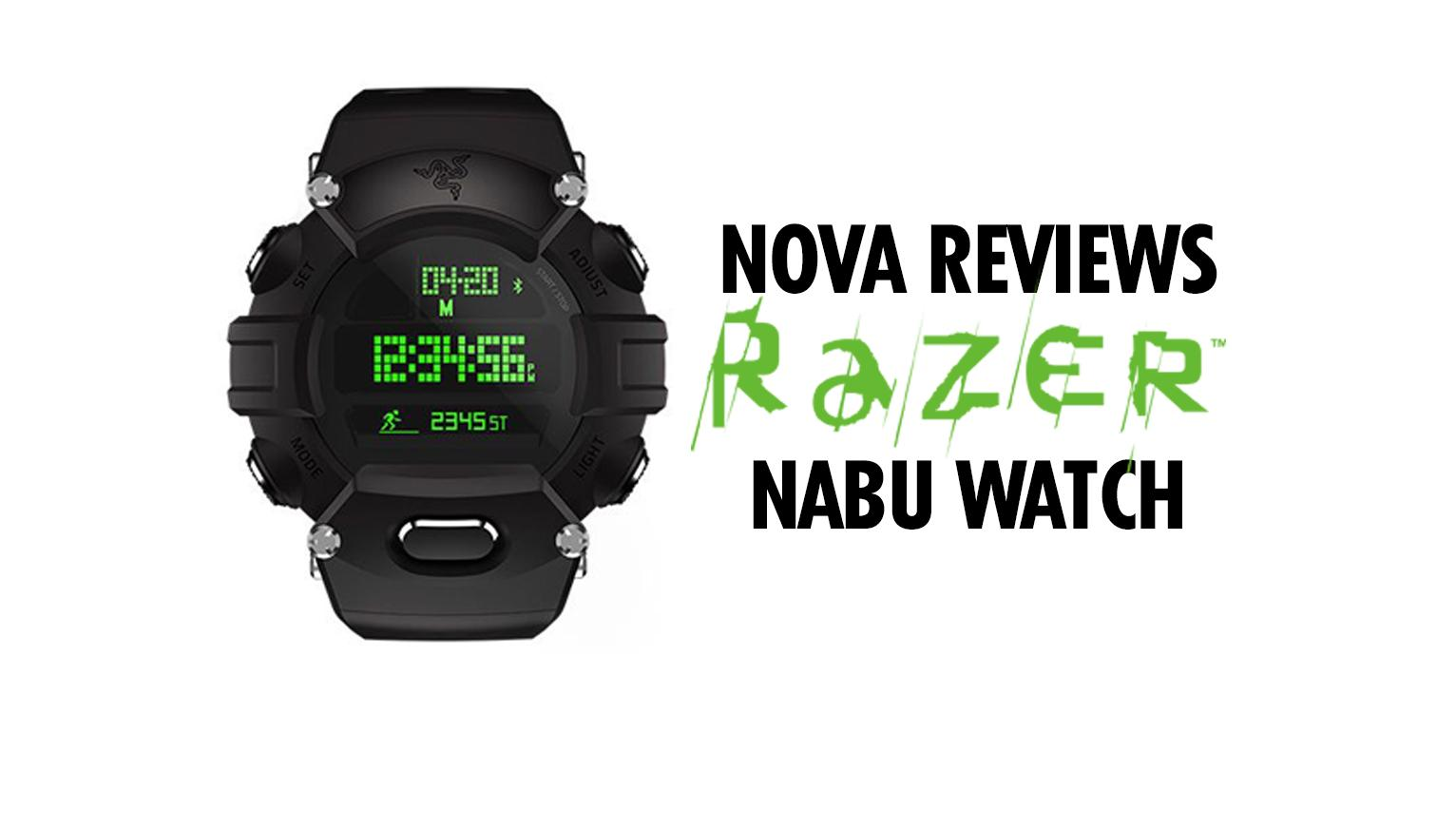 Nova Reviews the Razer Nabu Watch