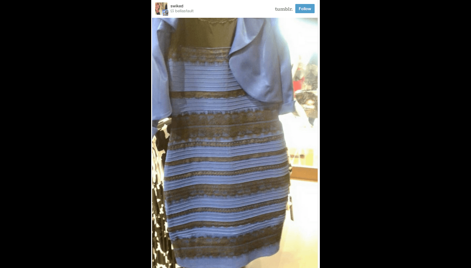 The dress controversy - Internet Explodes With Colour Of This Dress Controversy